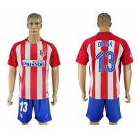 Atletico Madrid #13 Oblak Home Soccer Club Jersey