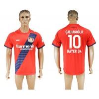 Bayer Leverkusen #10 Calhanoglu Away Soccer Club Jersey