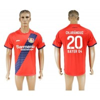Bayer Leverkusen #20 Ch.Aranguiz Away Soccer Club Jersey