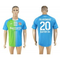 Bayer Leverkusen #20 Ch.Aranguiz Sec Away Soccer Club Jersey