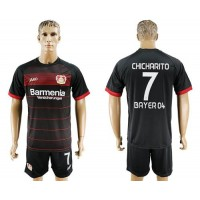 Bayer Leverkusen #7 Chicharito Home Soccer Club Jersey