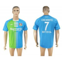 Bayer Leverkusen #7 Chicharito Sec Away Soccer Club Jersey