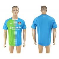 Bayer Leverkusen Blank Sec Away Soccer Club Jersey