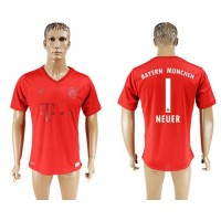 Bayern Munchen #1 Neuer Marine Environmental Protection Home Soccer Club Jersey
