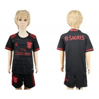 Benfica Blank Away Kid Soccer Club Jersey