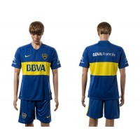Boca Juniors Personalized Home Soccer Club Jersey