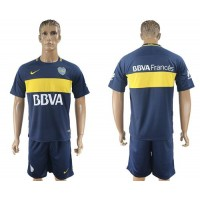 Boca Juniors Blank Home Soccer Club Jersey