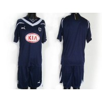 Bordeaux Personalized Dark Blue Home Soccer Club Jersey