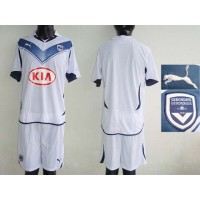 Bordeaux Personalized White Soccer Club Jersey