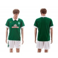 Bremen Personalized Green Home Soccer Club Jersey