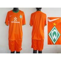 Bremen Personalized Orange Third Soccer Club Jersey