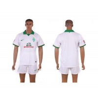 Bremen Personalized White Away Soccer Club Jersey