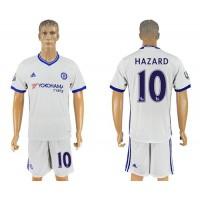 Chelsea #10 Hazard White Soccer Club Jersey