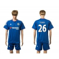 Chelsea #26 Terry New Blue Soccer Club Jersey