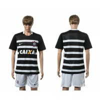 Corinthians Personalized Away Soccer Club Jersey