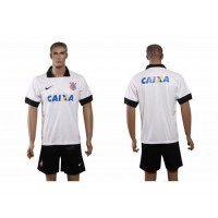 Corinthians Personalized White Home Soccer Club Jersey 1