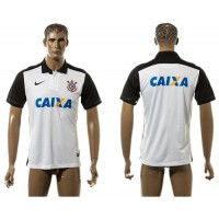 Corinthians Personalized White Home Soccer Club Jersey