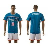 Cruz Azul Personalized Blue Home Soccer Club Jersey