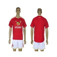 El Ahly Personalized Red Home Soccer Club Jersey