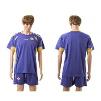 Fiorentina Personalized Home Soccer Club Jersey