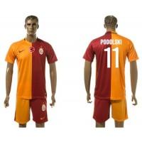Galatasaray SK #11 Podolski Home Soccer Club Jersey