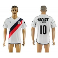 Guadalajara #10 Lopez Away Soccer Club Jersey