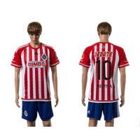 Guadalajara #10 Reyna Home Soccer Club Jersey