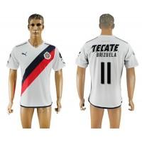 Guadalajara #11 Brizuela Away Soccer Club Jersey