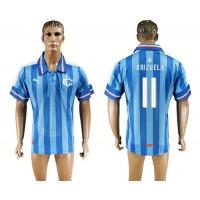 Guadalajara #11 Brizuela Blue Soccer Club Jersey