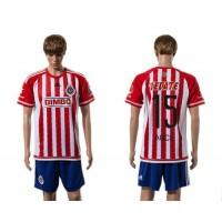 Guadalajara #15 Arce Home Soccer Club Jersey