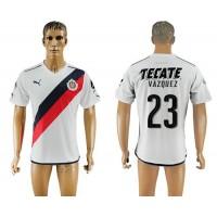 Guadalajara #23 Vazquez Away Soccer Club Jersey