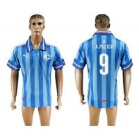 Guadalajara #9 A.Pulido Blue Soccer Club Jersey