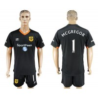 Hull City #1 Mcgregor Away Soccer Club Jersey