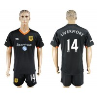 Hull City #14 LIV ERMORE Away Soccer Club Jersey