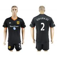 Hull City #2 Odubajo Away Soccer Club Jersey