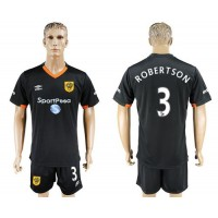 Hull City #3 Robertson Away Soccer Club Jersey