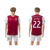 Lorado Rapids #22 Wynne Home Soccer Club Jersey