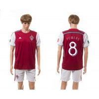 Lorado Rapids #8 Powers Home Soccer Club Jersey