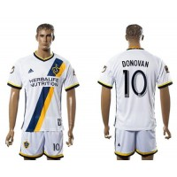 Los Angeles Galaxy #10 Donovan Home Soccer Club Jersey