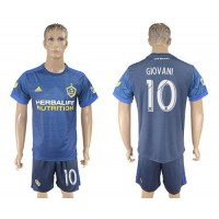 Los Angeles Galaxy #10 Giovani Away Soccer Club Jersey