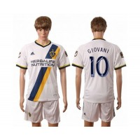 Los Angeles Galaxy #10 Giovani Home Soccer Club Jersey