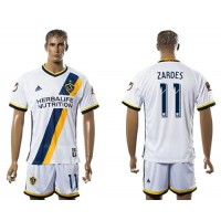 Los Angeles Galaxy #11 Zardes Home Soccer Club Jersey