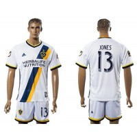 Los Angeles Galaxy #13 Jones Home Soccer Club Jersey
