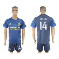 Los Angeles Galaxy #14 Rogers Away Soccer Club Jersey