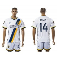 Los Angeles Galaxy #14 Rogers Home Soccer Club Jersey