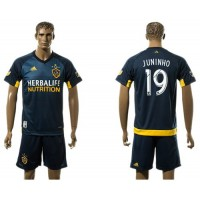 Los Angeles Galaxy #19 Juninho Away Soccer Club Jersey