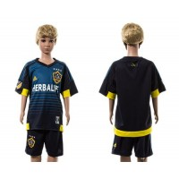 Los Angeles Galaxy Personalized Away Kid Soccer Club Jersey