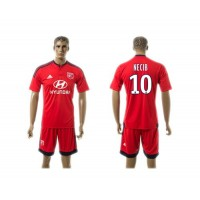 Lyon #10 Necib Away Soccer Club Jersey