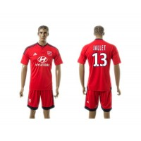 Lyon #13 Jallet Away Soccer Club Jersey