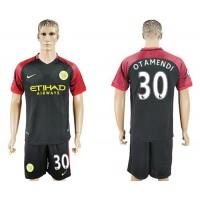Manchester City #30 Otamendi Away Soccer Club Jersey